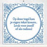 Delfts Blauw tegeltje (nr.165)