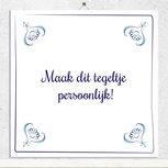 Delfts Blauw tegeltje (nr.3)