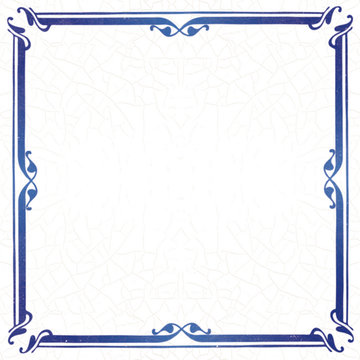 Delfts Blauw (nr.33 blanco)