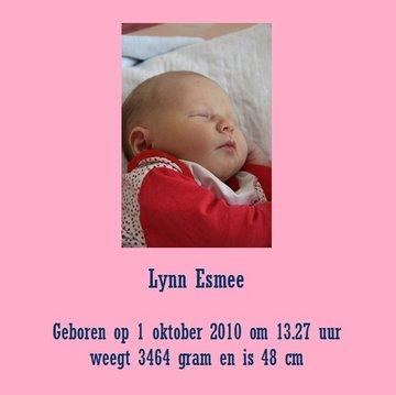 Geboorte Tegel meisje 10