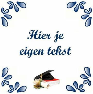 Diploma Tegeltje (nr.1)