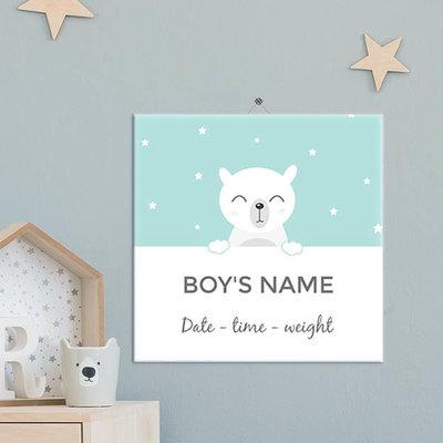 Geboorte Tegel jongen (nr.9)
