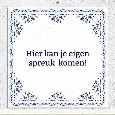 Delfts Blauw tegeltje (nr.22)