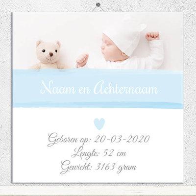 Geboorte Tegel jongen (nr.80)