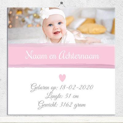 Geboorte Tegel meisje (nr.80)