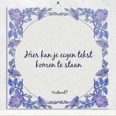 Delfts Blauw tegeltje (nr.19)