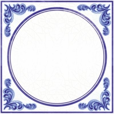 Delfts Blauw (nr.62 blanco)