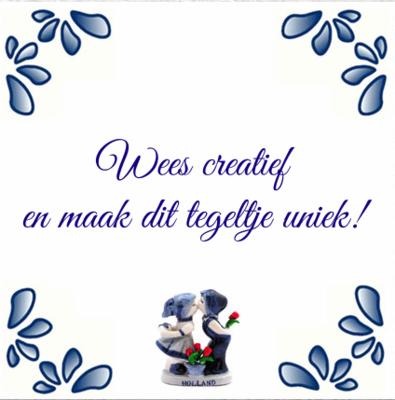 Delfts Blauw poppetjes nieuw (nr.67)