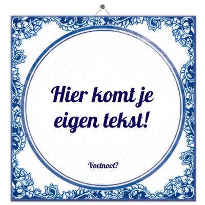 Delfts Blauw (nr.63) nieuw