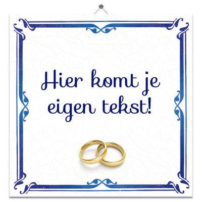 Huwelijk tegeltje (nr.33)