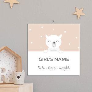 Geboorte Tegel meisje 11