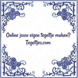 Online tegeltje maken (nr. 23)
