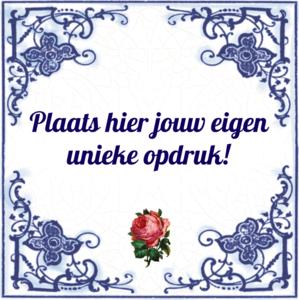 Tegeltje Rode Roos (nr. 23)