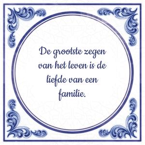 spreuken familie liefde De grootste zegen van het leven is de liefde van een familie  spreuken familie liefde
