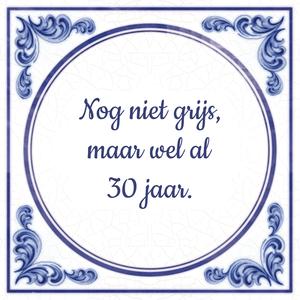 30 Jaar Spreuken