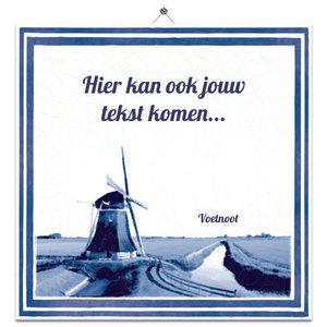 Hollands tegeltje (nr. 51)