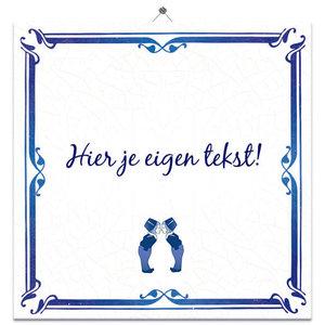 Huwelijk tegeltje 2 (nr.33)