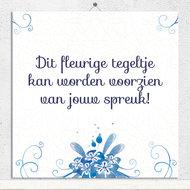 Delfts Blauwe bloemen (nr.29)