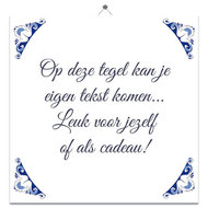 Delfts Blauw tegeltje (nr. 2)