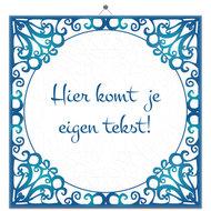 Tegeltje Blauw (nr. 38)
